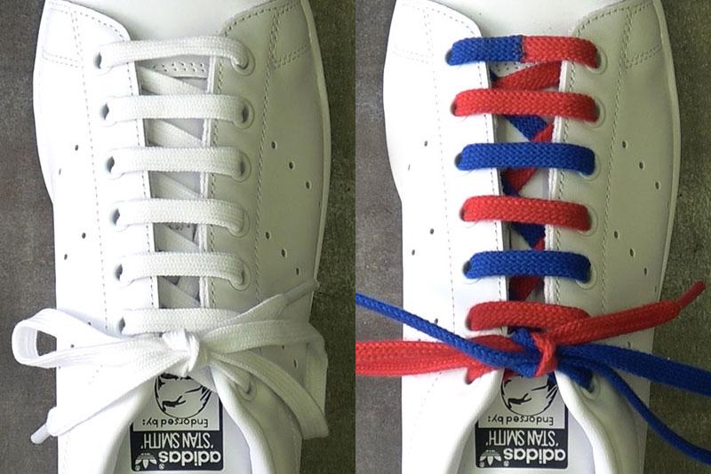 【保存版】定番の靴ひもの通し方4種類&ほどけないイアン・ノット結びを徹底解説